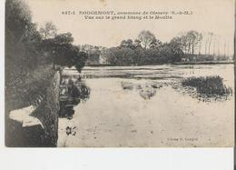 ROUGEMONT. CP Rougemont Commune De Oissery Vue Sur Le Grand Etang Et Le Moulin - France