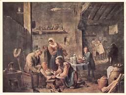 Walter Classen ,kunstverlag, Zürich , Teniers Baderstube La Malade The Patient Kassel    Barry 4924 - Schilderijen