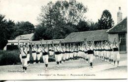 """N°1918 T -cpa """" L'Espérance """"  De Mamers -mouvement D'ensemble- - Gimnasia"""