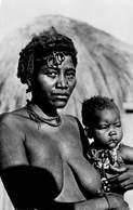 Photo Foto Carte Congo Belge , Une Femme  Baholo Avec Son Enfant    Barry 4930 - Congo Belge - Autres