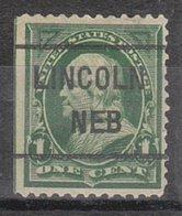 USA Precancel Vorausentwertung Preo, Locals Nebraska, Lincoln 1898-L-2 TS - Vereinigte Staaten