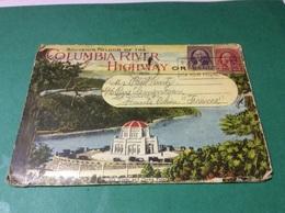 Souvenir Folder Of The COLUMBIA RIVER Highway     1/20 - Etats-Unis