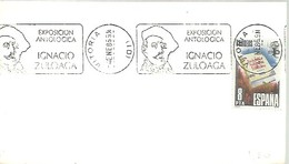 POSTMARKET  ESPAÑA  1986  ZULOAGA   VITORIA - Arte