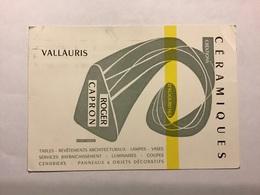 VALLAURIS — Céramiques Créations D' Aujourd'hui — Roger CAPRON - Vallauris