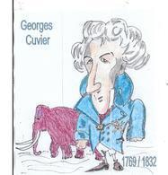 3 Marque- Pages  GEORGES CUVIER   édités  à L' Occasion Du Salon De La Carte Postale De MONTBELIARD - Lesezeichen