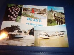 Cpsm Cpm  Gironde   Blaye  Divers Vues Cornee - Blaye