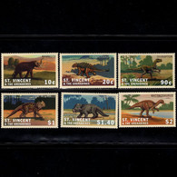 St.Vincent  2001   Dinosaurs And Prehistoric Animals   SCOTT No. 2966-2971 - St.Vincent & Grenadines