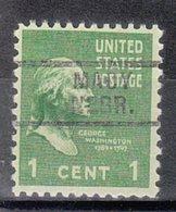 USA Precancel Vorausentwertung Preo, Locals Nebraska, Macy 729 - Vereinigte Staaten