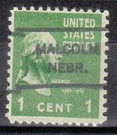 USA Precancel Vorausentwertung Preo, Locals Nebraska, Malcom L-1 HS - Vereinigte Staaten