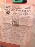 Nouvelle Machine Américaine Automatique à Laver Le Linge Richard Schneider - Exposition Universelle - Circa 1889 - Frankrijk