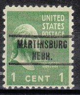 USA Precancel Vorausentwertung Preo, Locals Nebraska, Martinsburg 734 - Vereinigte Staaten
