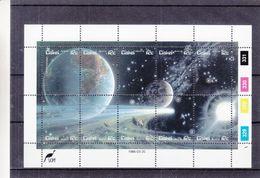 Ciskei - Espace - Lune - Terre - BF De 1986 ** - - Ciskei