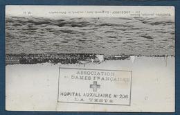 Gironde -  Hôpital Auxiliaire N° 206  LA TESTE - Marcophilie (Lettres)