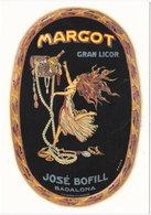 Gf. Publicidad. GRAN LICOR MARGOT. Badalona. 1751 - Advertising