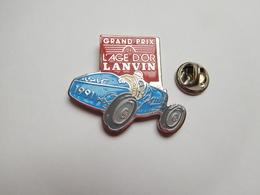 Beau Pin's , Auto Ancienne , Grand Prix De L'Age D'Or Lanvin , Signé Démons & Merveilles - Pin's