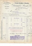13.MARSEILLE .- DURAND DE PICARD  & Cie  Grande Distillerie D' ABSINTHE - Levensmiddelen