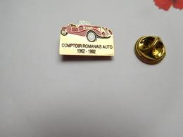Beau Pin's , Auto Ancienne , Roadster ,  Comptoir Romanais Auto , Romans Sur Isére - Pin's