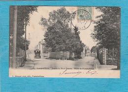 Samois-sur-Seine. - Entrée Du Haut-Siamois. - Route De Fontainebleau. - Samois