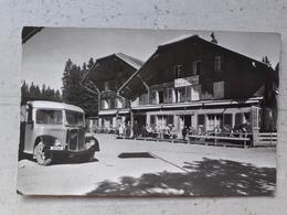 CPA Suisse Jaunpass Hôtel Des ALPES  Personnages Et Camion - BE Berne