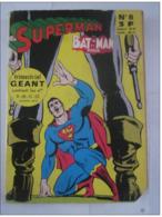 SUPERMAN BATMAN ET ROBIN ALBUM N° 8 Contenant Les Numéros : 9 , 10 , 11 , 12 - Superman