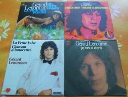 GERARD LENORMAN - Huit 45 Tours - Vinyles