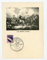 """FRANCE -  OBLI. TEMPORAIRE """"CAMPAGNE DE FRANCE 1814/1964 TROYES 11/4/1964"""" SUR CARTE POSTALE """"LES MARIE-LOUISE"""" - Postmark Collection (Covers)"""