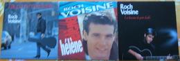ROCH VOISINE - Trois 45 Tours - Vinyles
