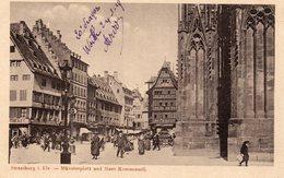 STRASBOURG Munsterplatz - Straatsburg