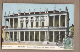CPA ITALIE - VICENZA - Palazzo Chierigati , Ora Museo Civico - TB PLAN EDIFICE CENTRE VILLE TB Oblitération Recto Verso - Vicenza