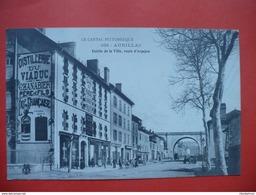 AURILLAC (15 Cantal) Entrée De La Ville ,route D'Arpajon,distillerie Chanabier ,liqueur - Aurillac