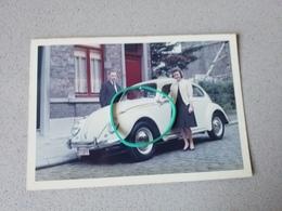 Vw Coccinelle Photo Originale - Postcards