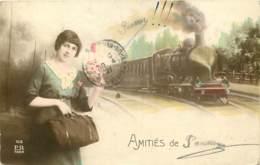35 - Amitiés De PANAME - TRAIN - France