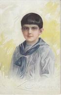 Guerinoni: Portrait Of A Boy Old Postcard Posted 1926 Krapina To Zagreb B200115 - Guerinoni