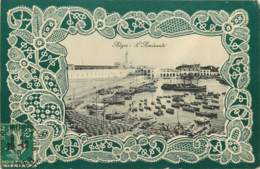 ALGER - L'AMIRAUTE - BELLE CPA GAUFFREE - Algerien