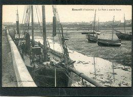 CPA - ROSCOFF - Le Port à Marée Basse - Bateau De Pêche, Animé - Roscoff