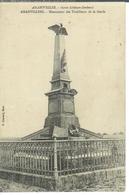 Cpa 57 Amanvillers , Monument Des Tirailleurs De La Garde - Autres Communes