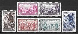 ALGERIE Française : Série N° 319 à 324 Neuve **  TB (cote 28,20 €) - Neufs