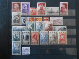 FRANCE ANNEE COMPLETE 1946 (YT 748/711)** - 1940-1949