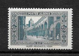 "ALGERIE Française : ""Mosquée El-Kebir""  N° 123 N **  TB (cote 8,77 €) - Neufs"