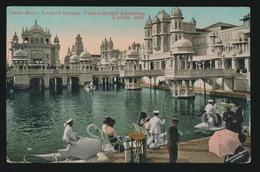 SWAN BOATS COURT OF HONOUR FRANCO BRITISCH EXHIBITION LONDON 1908 - Londen
