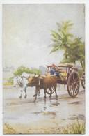 Malayan Bullock Cart - Tuck Oilette - No Number - Malaysia