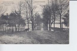 Ak Aschaffenburg, Überschwemmung Am 6. -8. Februar 1909, Buschallee - Aschaffenburg