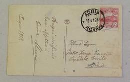 Cartolina Augurale Per Adria - 19/04/1913 - Saint-Marin