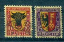 SUISSE : Y&T (o) N°168-169 (à 10% De La Cote) - Svizzera