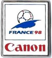 AB - C47 - CANON - COUPE DU MONDE DE FOOTBALL -  FRANCE 98 - Verso : Fabriqué Sous Licence Par ARTHUS BERTRAND - Arthus Bertrand
