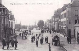 29 - Finistere -  CONCARNEAU  - L Entrée De La Nouvelle Ville - Quai D Aiguillon - Concarneau