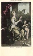 D 3350 - Musée Du Louvre  Tableau De Pierre   Mignard    Sainte Cécile Et Publicité    Chocolat - Vinay - Museen