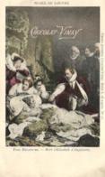 D 3351 - Musée Du Louvre  Tableau De Paul Delaroche  Mort D'Elisabeth D'Angleterre  Et Publicité    Chocolat - Vinay - Museen