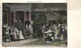 D 3356 - Musée D'Italie    Tableau  E.Gilli   Charles 1er Dans L'Atelier De Van Dyck  Et Publicité  Chocolat - Vinay - Museen