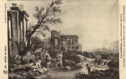D 3359 - Musée De Dijon    Tableau  De Jean Baptiste Lallemand    Lavandieres  N 202 - Museen